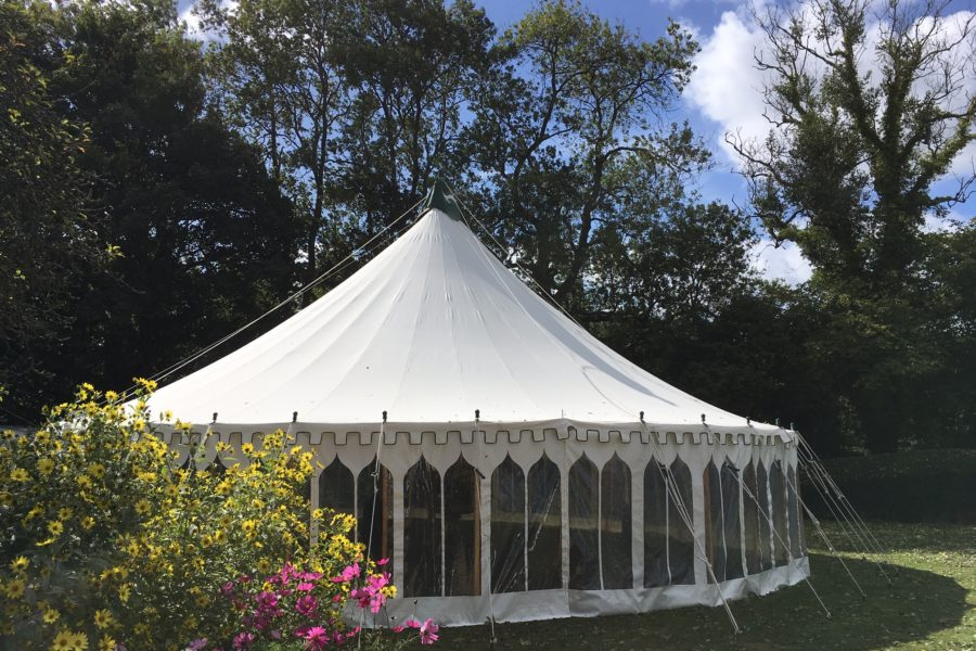 40' round marquee