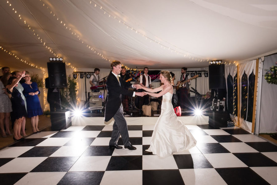 Hatch House first dance