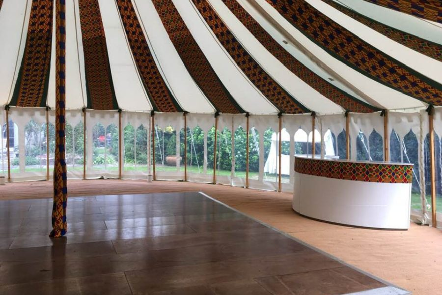 african round tent