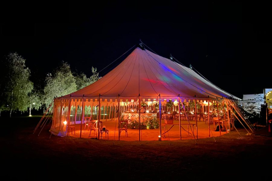 Oval 80' x 40' Marquee Dorset